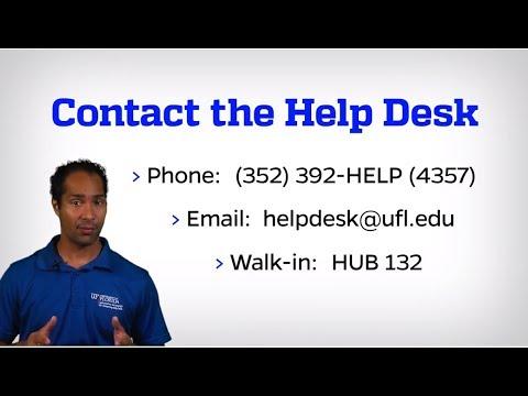 UF Computing Help Desk Video