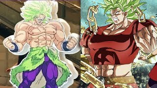 BROLY VS KALE POWER LEVELS OVER THE YEARS (DBZ/DBS)