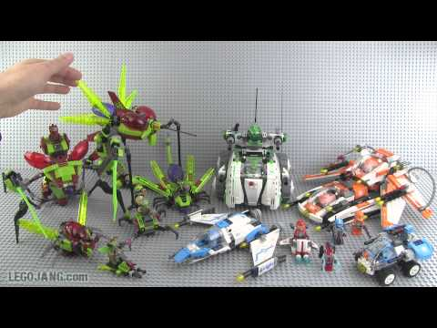 LEGO Galaxy Squad Bug Obliterator Review : LEGO 70705