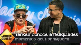 Daddy Yankee Y Daddy Melquiades Bailan Juntos 'A Mi Me Gusta El TACA TACA' - El Hormiguero 3.0