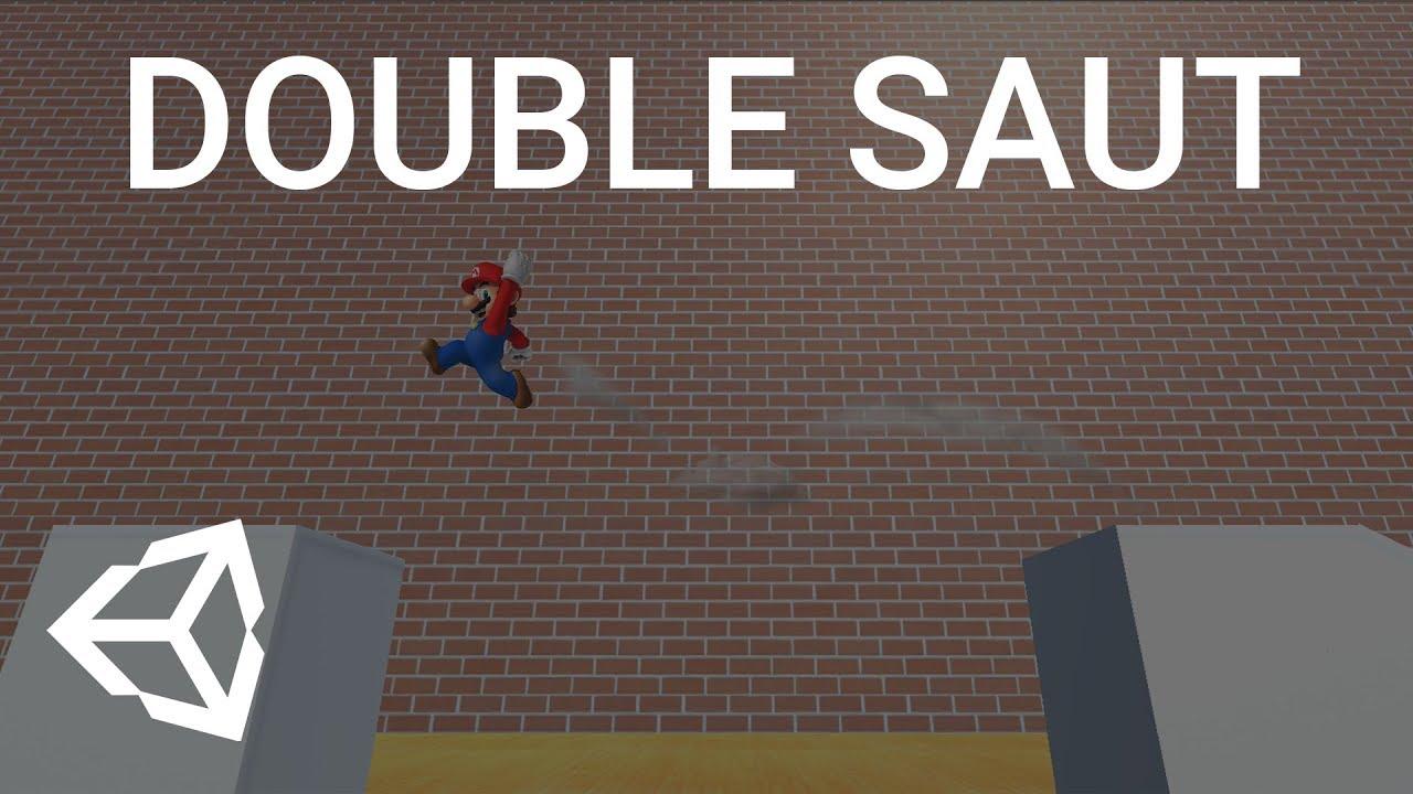 TUTO : Ajout d'un système de double saut (Unity 3D)