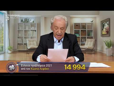 Δίδυμοι 2021 Ετήσιες Προβλέψεις Κώστα Λεφάκη σε βίντεο