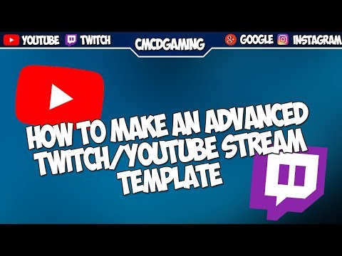 Download How To Make A Youtube Twitch Overlay In Photoshop Advanc