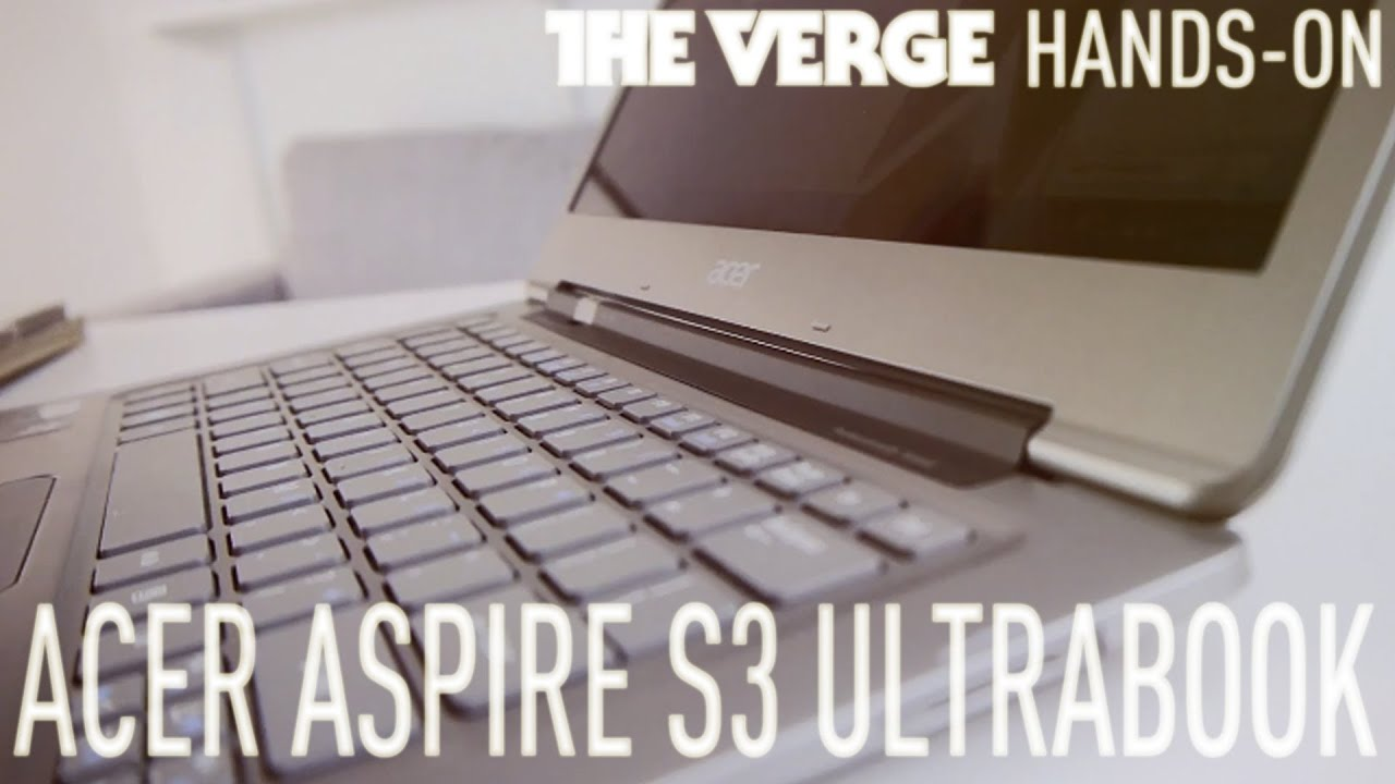 Acer Aspire S3 ultrabook review thumbnail