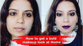 How to get a bold makeup look at Home - Make-up Tips by Nidhi Jagtiani