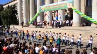 Флешмоб посвящение в студенты ВолГАУ 2016