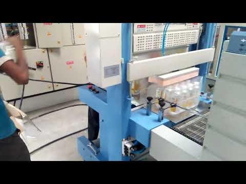 Semi-Automatic Sleeve Wrapper Shrink Tunnel Machine