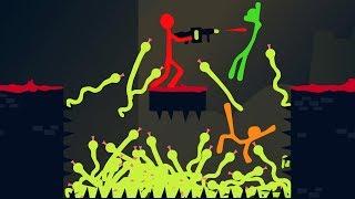 CRAZY SNAKE BATTLE ROYALE! (Stick Fight)