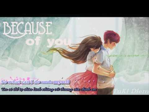 Because Of You - By2 [ Lyrics + Vietsud ] ( My Little Princess Ost ) Mp3