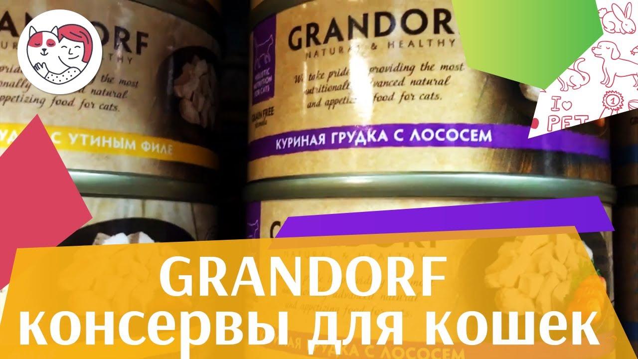 Grandorf консервы для кошек на ilikepet