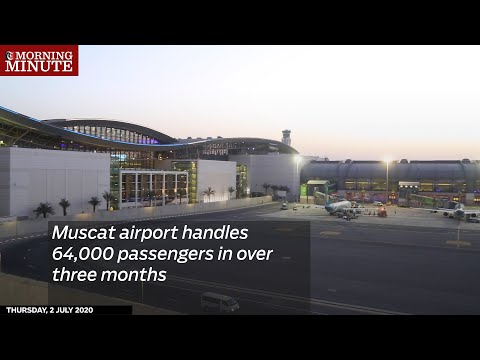 Muscat airport handles 64,000 passengers in over three months