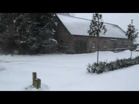 Rijkevoort in de sneeuw
