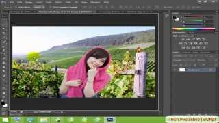 Ghép hình bằng Photoshop CS6 đơn giản, ghép ảnh Photoshop