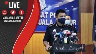 MGTV LIVE : Kuala Lumpur Catat  R-Naught 0.96 Untuk 3 Hari Berturut-Turut.- Ketua Polis Kuala Lumpur