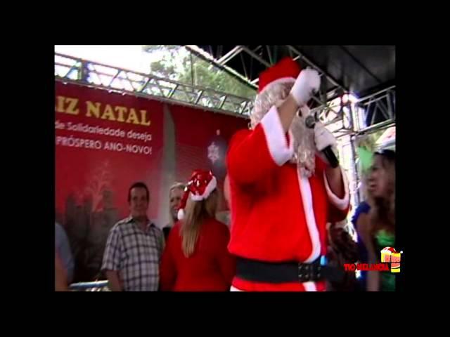 Natal Solidário com o Noel Melancia