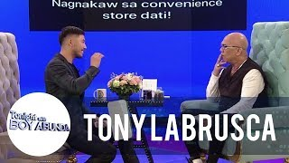 Tony Talks About His Hardships While In Canada | TWBA