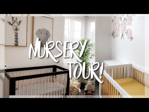Download OUR NURSERY REVEAL & TOUR || NEUTRAL THEME FOR BOY & GIRL HD Mp4 3GP Video and MP3