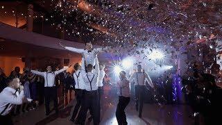 Groom And Groomsmen Dance SUPRISE For Bride / Niespodzianka Taniec Młodego Ze świadkami 2019