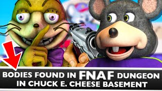 FNAF Was A WARNING, NOT Just A GAME! (how Fnaf Became REAL With Chuck E. Cheese)