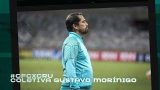 Coritiba 0 x 3 Cruzeiro - Coletiva Gustavo Morínigo