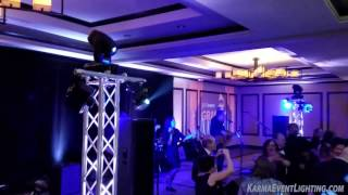 Diamond Package with Band Lighting by Karma Event Lighting