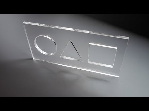 PERSPEX® | Laser cutting test
