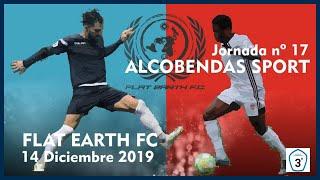 R.F.F.M. - Jornada 17 - Tercera División Nacional (Grupo 7): Flat Earth F.C. 1-0 Fútbol Alcobendas Sport.
