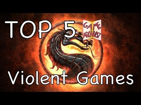 My Top 5 Violent Video Games for PS3/Xbox 360/ Modern PC