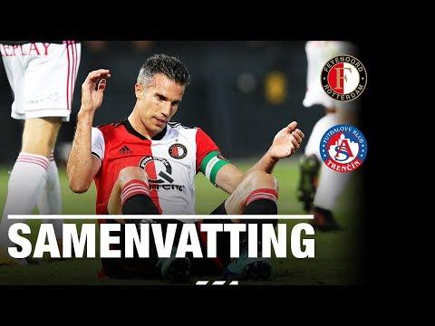 Feyenoord blijft steken op 1-1 tegen Trencin