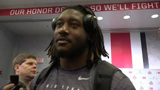 Davon Hamilton: Ohio State defensive lineman following Buckeyes 73-14 win over Maryland