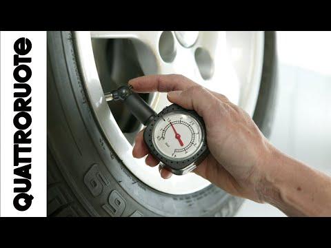 Come regolare la pressione delle gomme