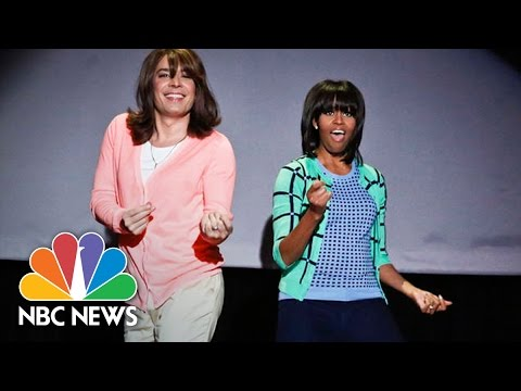Michelle Obama's Best Moments On The Tonight Show: Mom Dancing, Ew!, More | NBC News