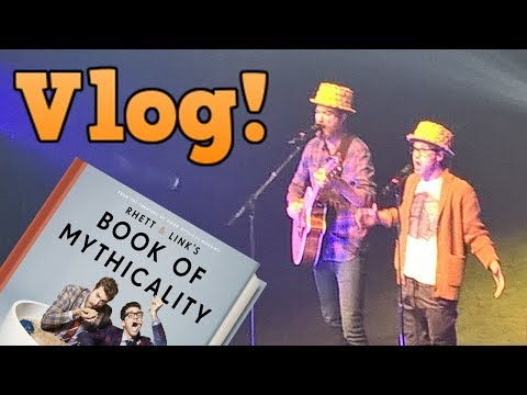 VLOG: Seeing Rhett & Link LIVE at the Tour of Mythicality! (This Was AMAZING)