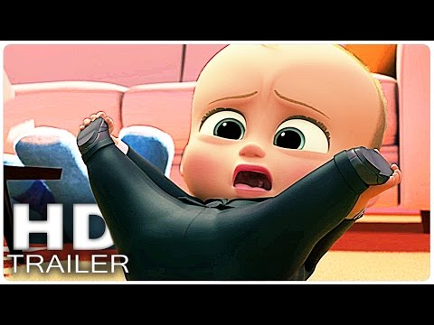 THE BOSS BABY Alle Clips + Trailer German Deutsch | Filme 2017