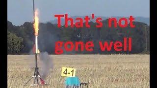 Model Rocket Crashes, Close Calls, and CATOs