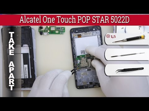 How to disassemble 📱 Alcatel One Touch POP STAR 5022D Take apart Tutorial