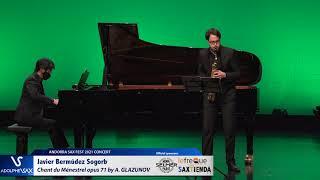 Javier Bermúdez Sogorb plays Chant du Ménestrel opus 71 by Alexander GLAZUNOV