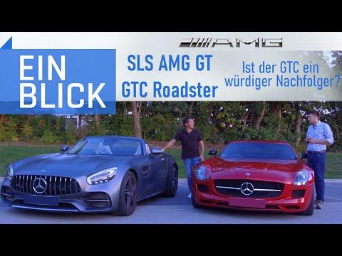 Mercedes SLS AMG & AMG GTC Roadster - Ist der GTC ein würdiger SLS Nachfolger?