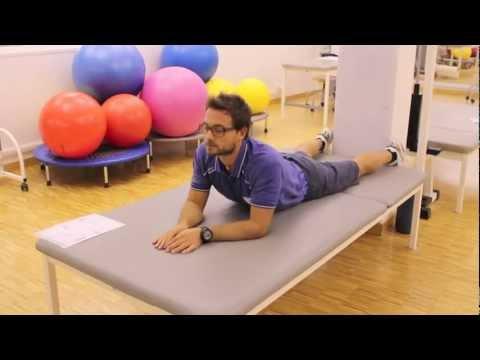 Mostra esercizi per la colonna vertebrale cervicale