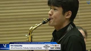 Ryo Nakajima plays Prelude, Cadence et Finale by Alfred Desenclos