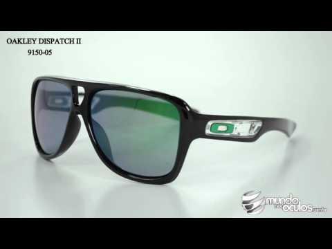75c6dad88a467 Óculos Oakley Dispatch 2 Verde Espelhado - R  395,00 em Mercado Livre