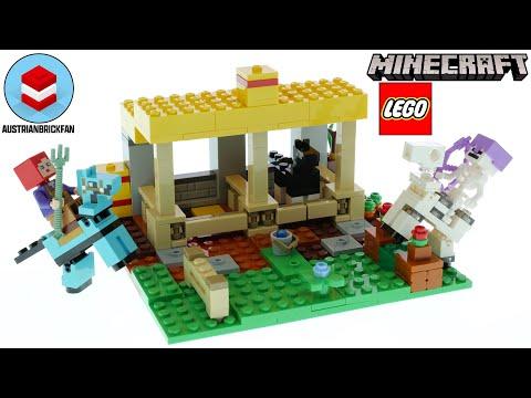 Vidéo LEGO Minecraft 21171 : L'écurie
