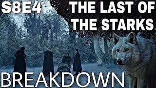 "S8E4 ""The Last of the Starks"" Breakdown! - Game of Thrones Season 8 Episode 4"