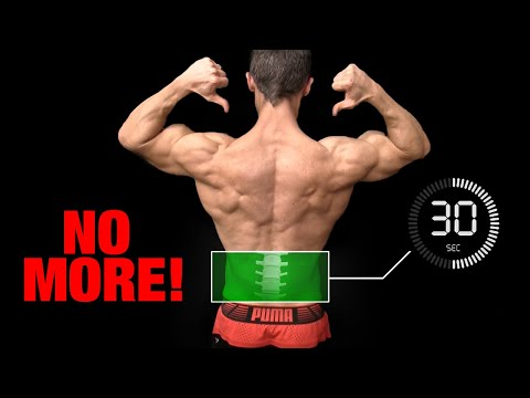 Do This EVERY Day | NO More Low Back Pain! (30 SECS)