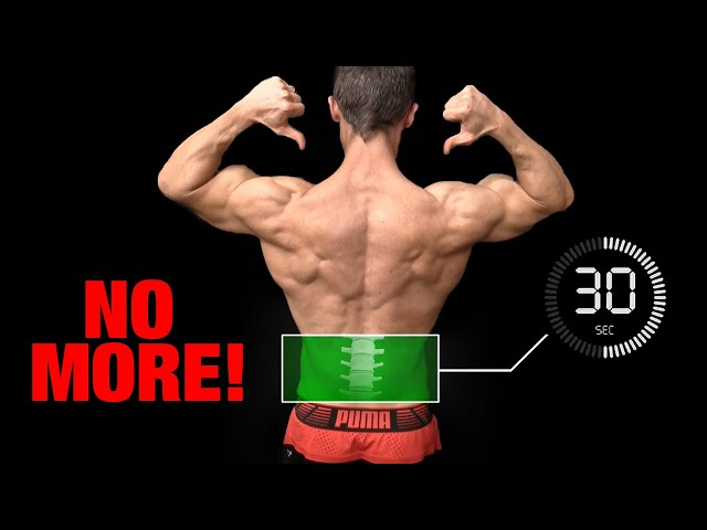 Do This EVERY Day   NO More Low Back Pain! (30 SECS)