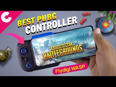 PUBG Mobile Controller - Flydigi Wasp Review!! (Android)