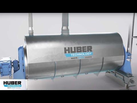 Animation: HUBER Scheibentrockner RotaDry®