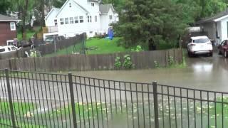 Ливень и наводнение в нашей деревне