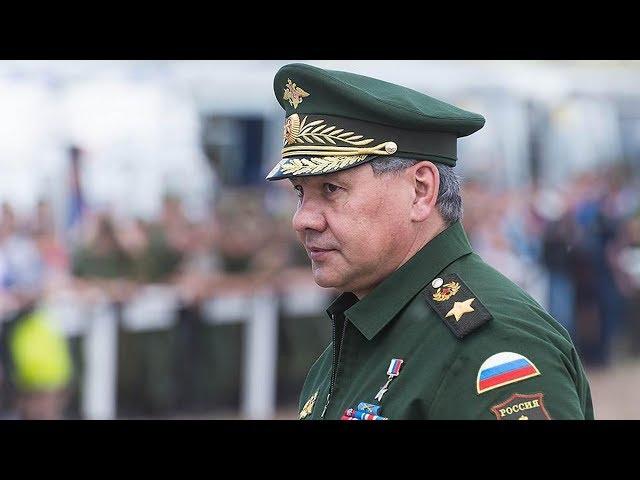 Сергей Шойгу прибыл в Иркутск