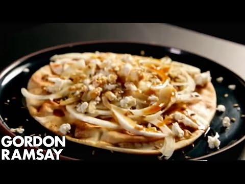 Flatbreads with Fennel & Feta – Gordon Ramsay